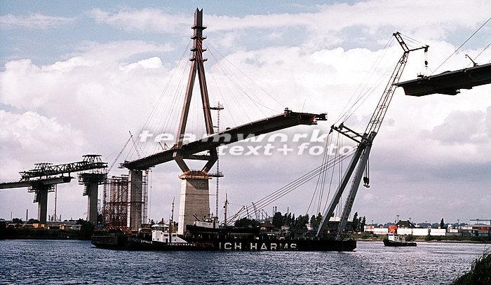 Köhlbrandbrücke Hamburg Verkehr